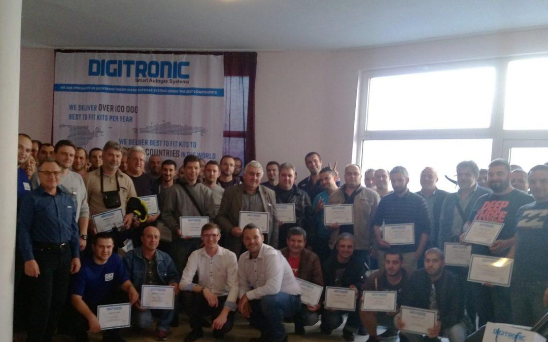 DIGITRONIC AUTOGAS szkoli w zakresie konfiguracji, instalacji i kalibracji systemów autogazowych!
